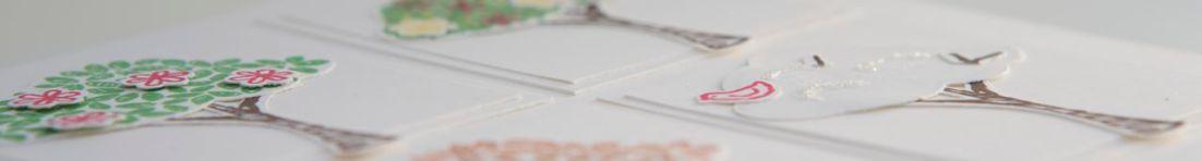 Karte mit Produkten von Stampin up!