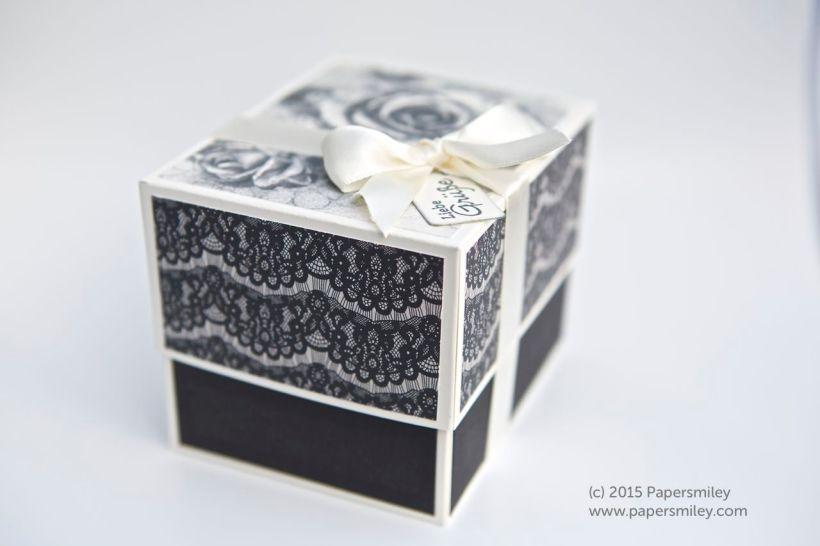 Verpackung mit zeitlos elegantem DSP von Stampin up!