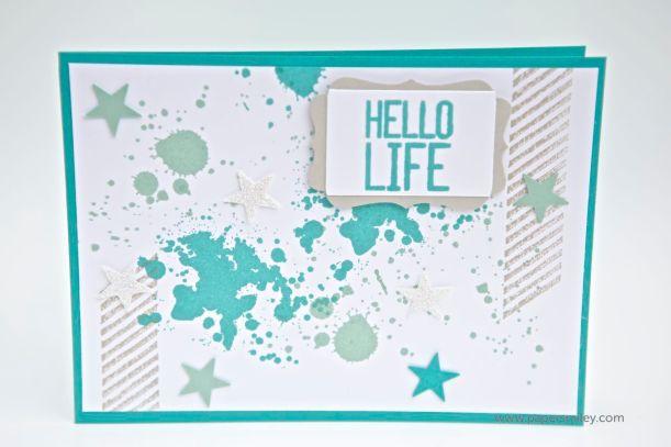 Karte mit Material von Stampin Up!