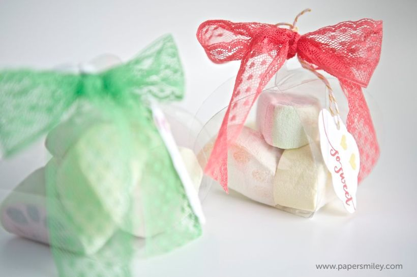 Verpackung mit Produkten von Stampin Up!