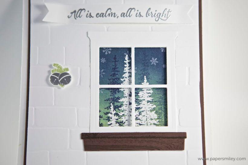 Winterfenster von Stampin' Up!