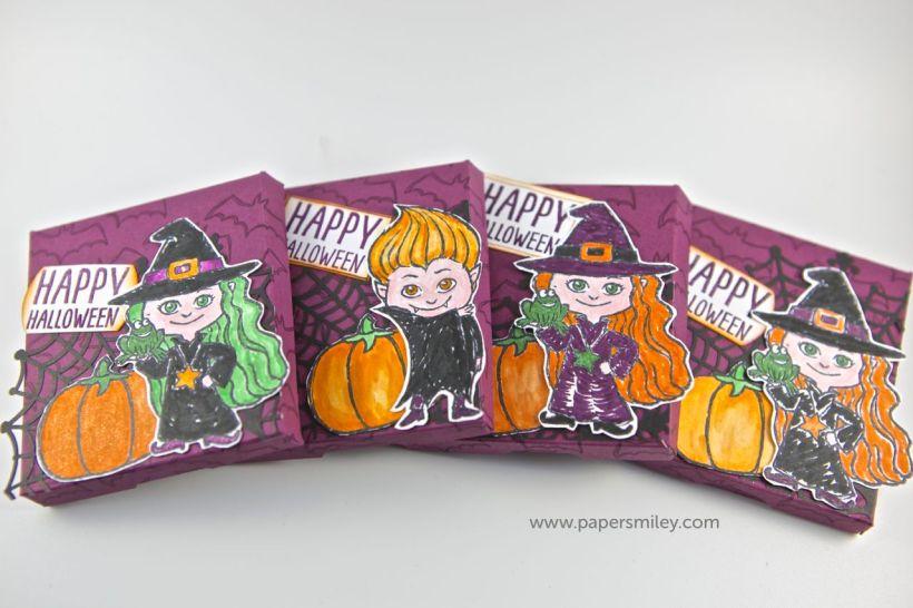 Halloween-Treatbox mit dem Set Haunt Ya Later von Stampin' Up!