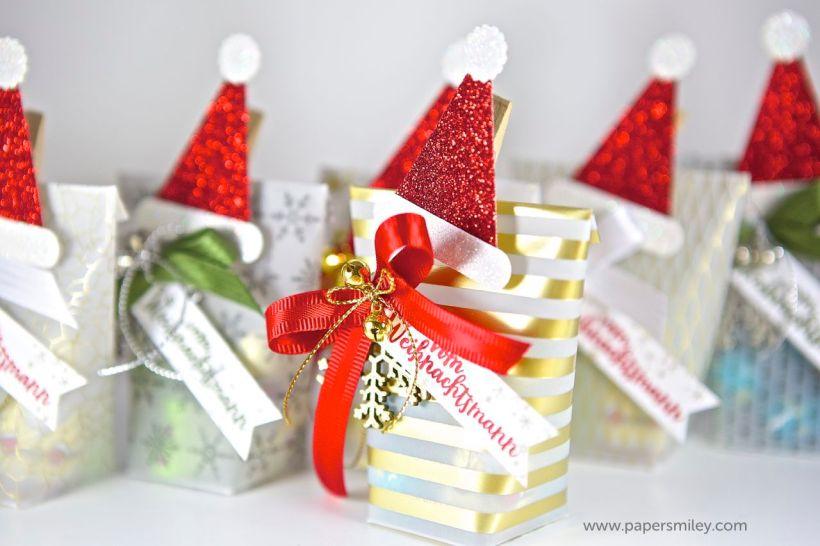 Weihnachts-Mitbrinsel mit Stampin Up!