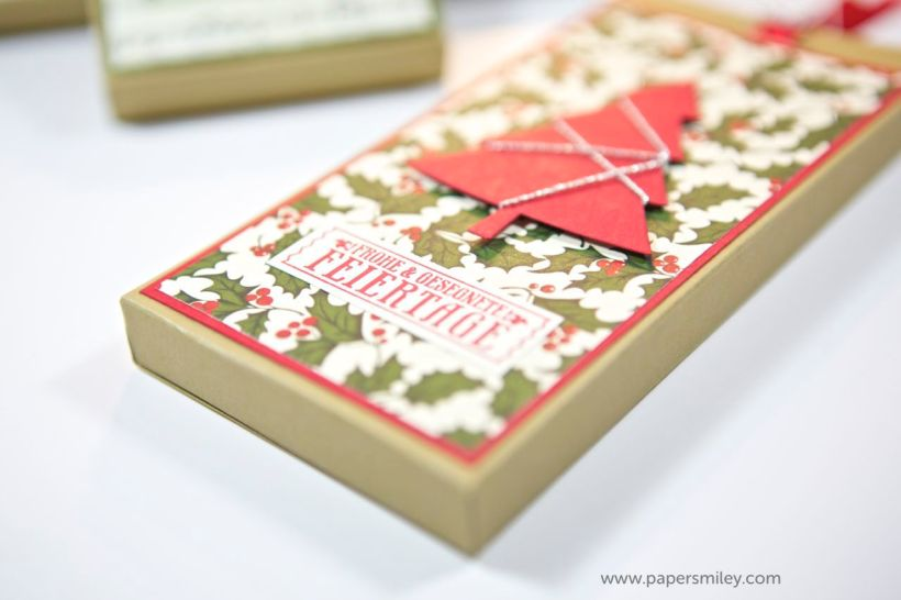 Schokoladen-Zieh-Verpackung mit Stampin' Up!