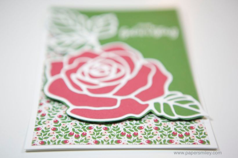 Rosengeburtstag mit Stampin Up!