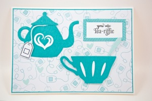 Teestunden-Karte mit Stampin Up!
