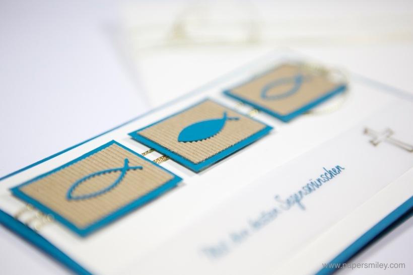 Kommunionskarte Konfirmationskarte mit Stampin Up!