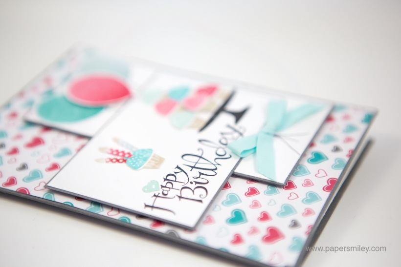 Sassy Salutations Geburtstagskarte mit Stampin' Up!