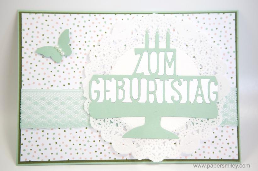Geburtstagskarte mit Stampin' Up!