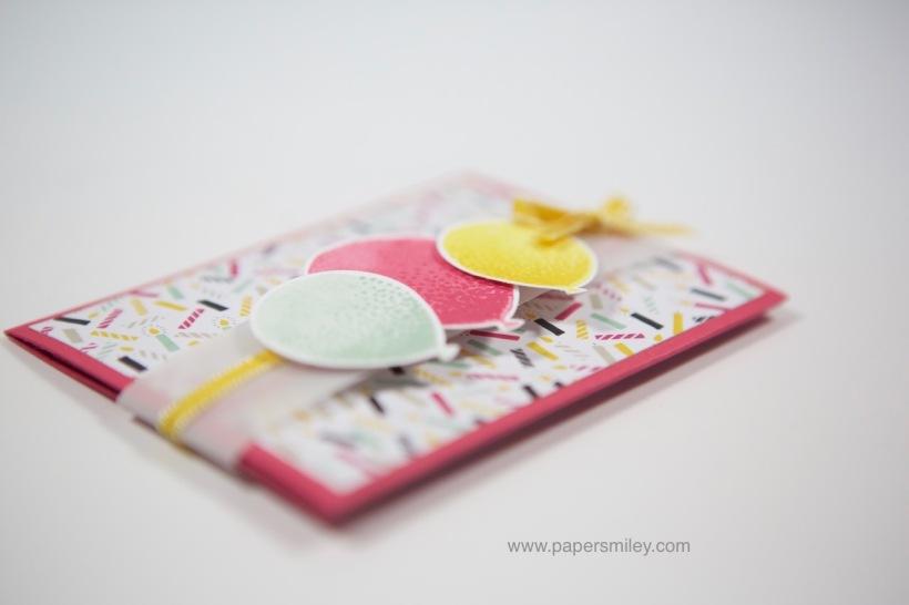 Giftcard-Verpackung mit Stampin' Up!