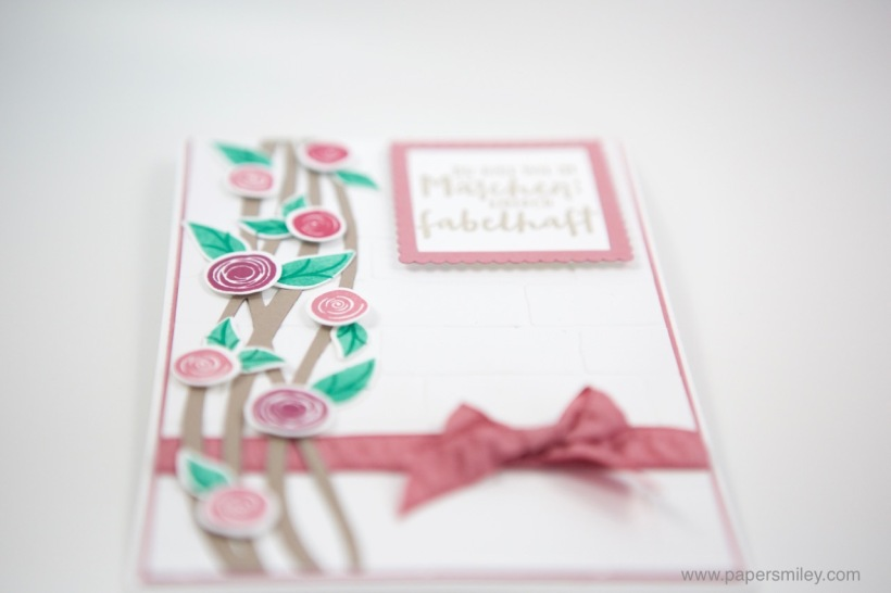 Swirly Bird Blumenranke mit Stampin' Up!