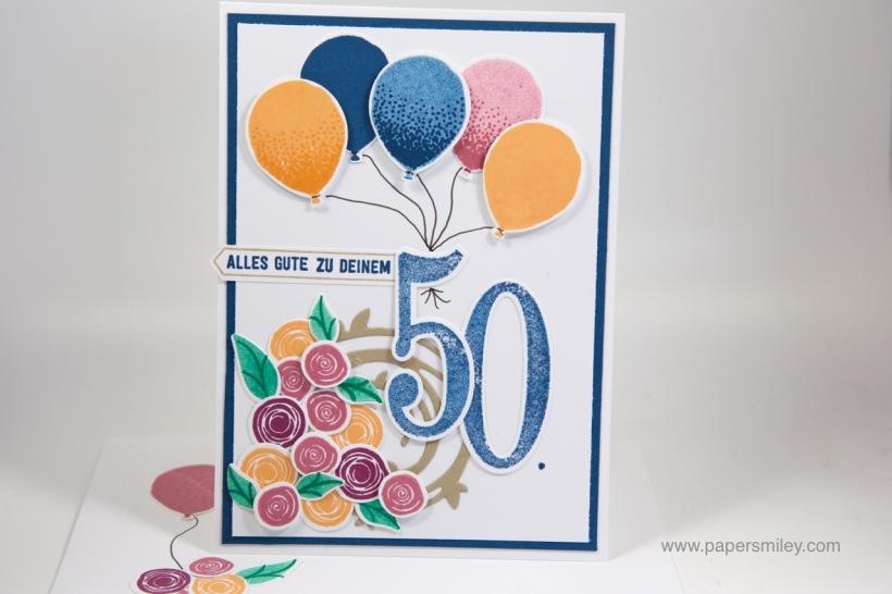 50. Geburtstag mit Stampin' Up!
