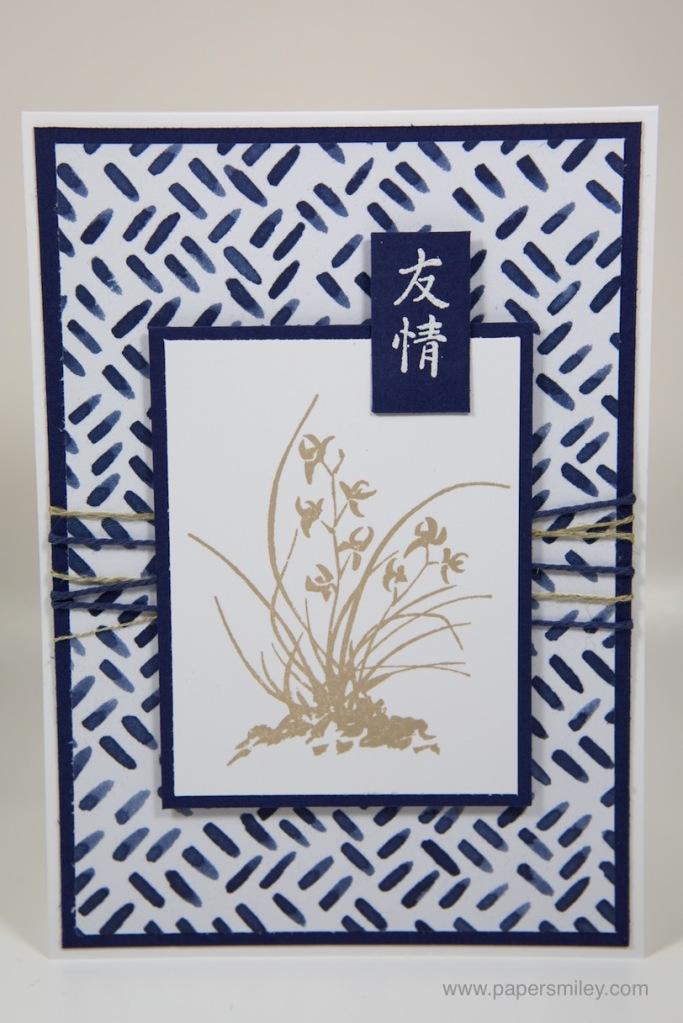 Artistically Asian - Freundschaftskarten mit Stampin' Up!