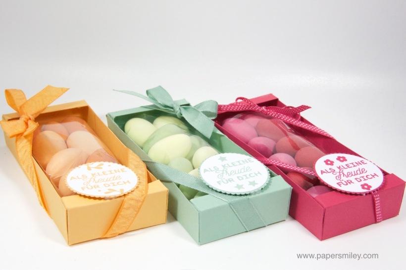 Geschenkverpackung für Mandeln mit Stampin' Up!