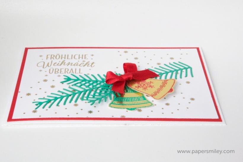 Weihnachtsglocken mit Stampin' Up!