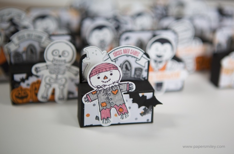 Halloween Treats mit Material von Stampin' Up!
