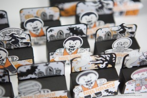 Halloween Treats mit Material von Stampin' Up!
