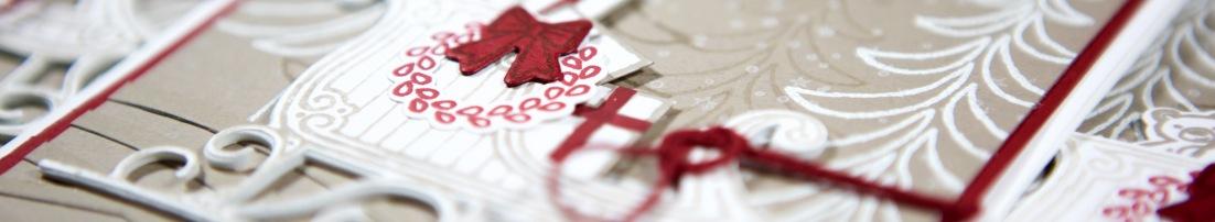 Weihnachtsschlitten mit Stampin Up