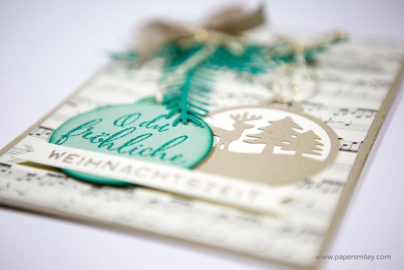 Weihnachtsanhänger-Karte von Stampin' Up!