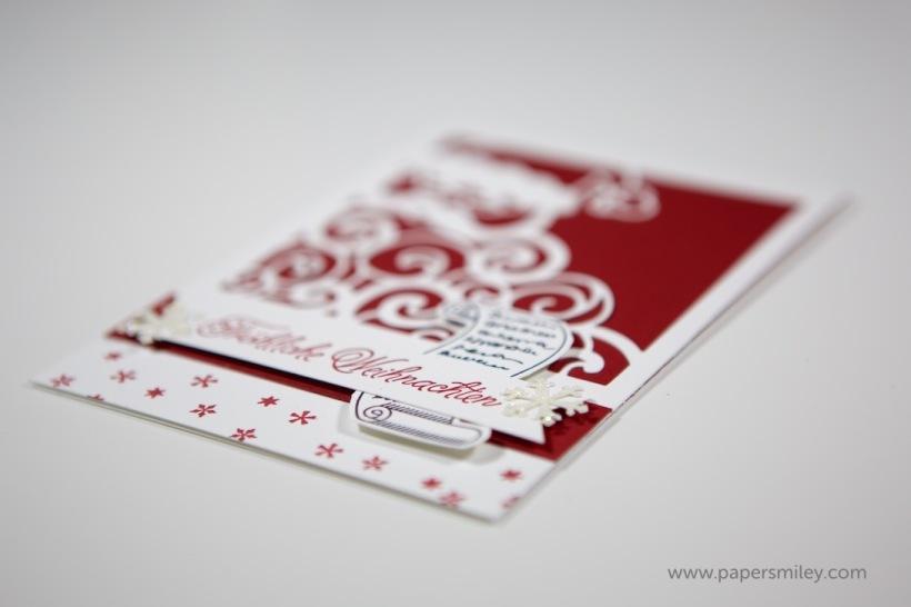 Weihnachtsmann-Karte mit Stampin' Up!