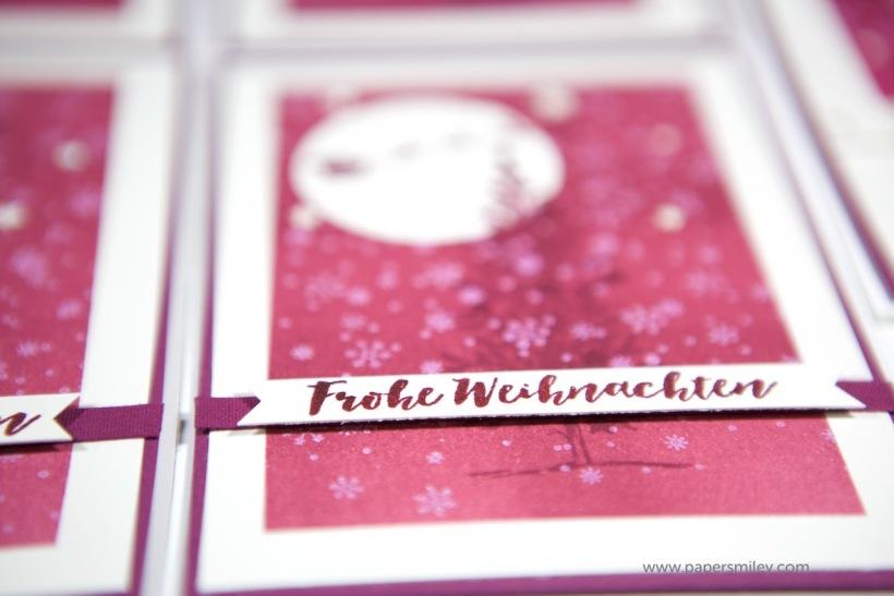 Weihnachtskarte mit Tannenbaum von Stampin' Up!