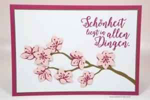 Blütenzweig-Karte mit Stampin' Up!