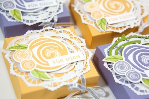 Verpackung für kleine Yankee Candle mit Stampin' Up!