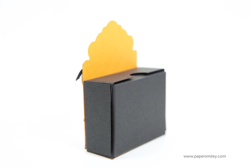 Halloween-Boxen mit Ziertor mit Stampin Up