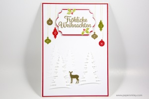 Festtagsdesign-Karte mit Stampin Up!