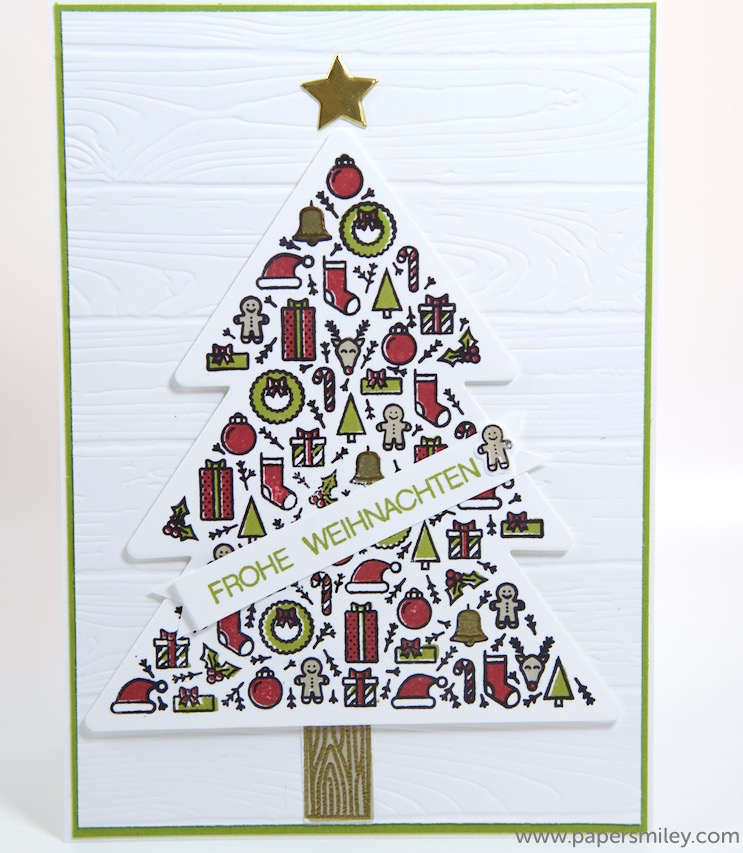 Iconic Christmastree mit Stampin Up!