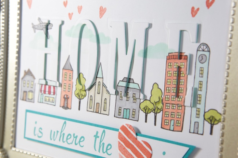 Home-Deko mit Stampin' Up!