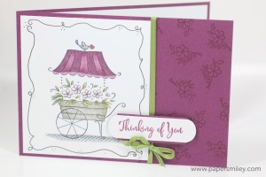 Karte mit Sweetest Thoughts von Stampin' Up!
