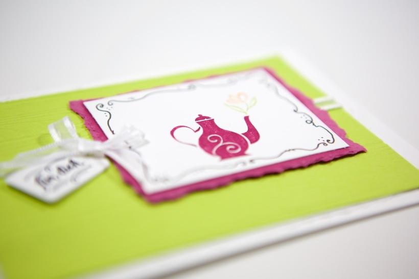 Eine Karte mit A Mothers Flair von Stampin' Up!