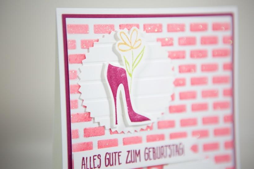 Geburtstagskarte mit Flair mit Stampin' Up!