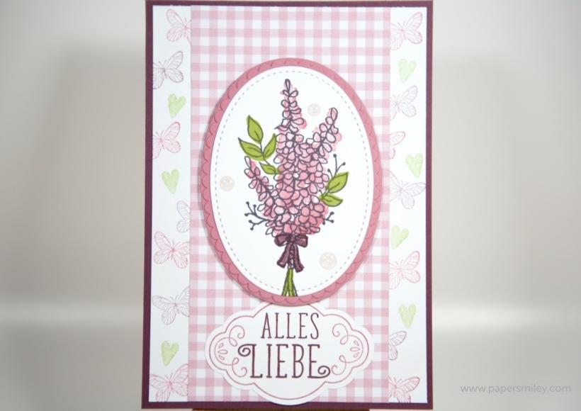 Geburtstagskarten mit Lots of Lavender von Stampin' Up!