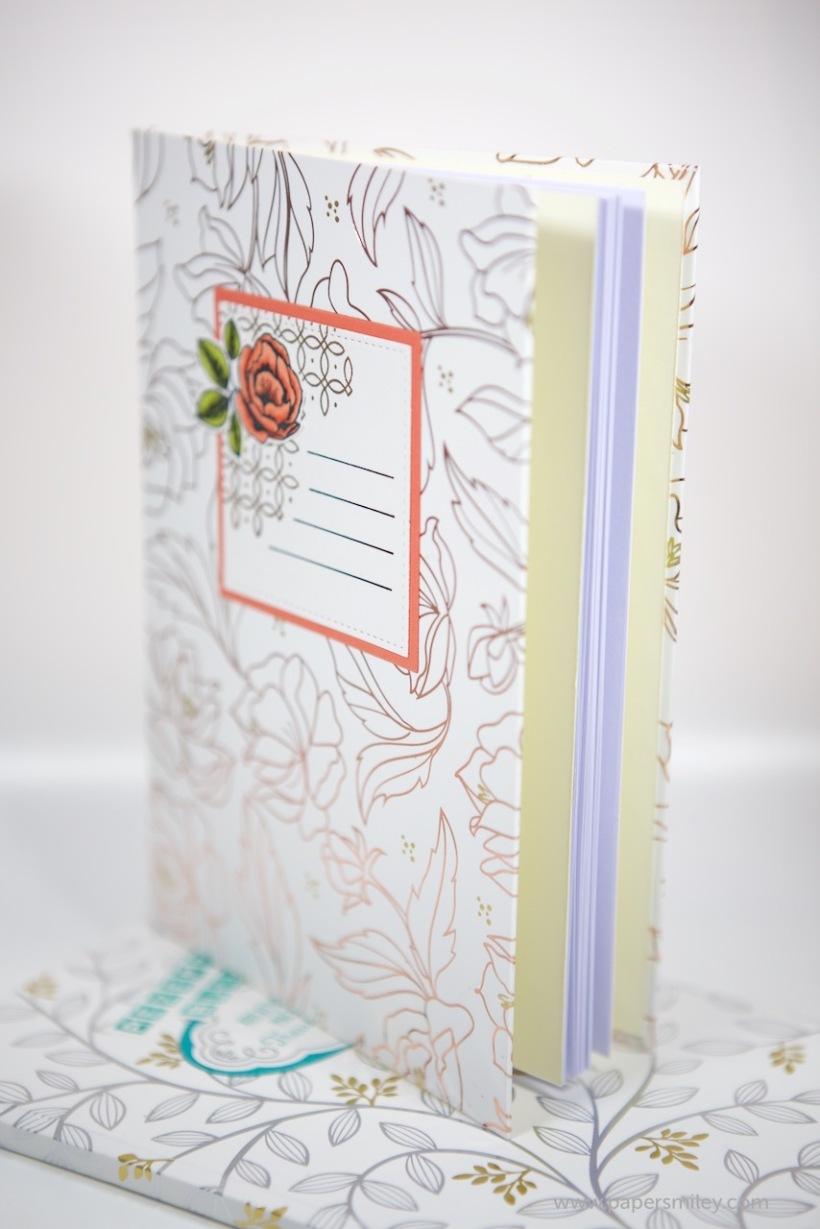 Bücher mit DSP Frühlingsglanz von Stampin' Up!
