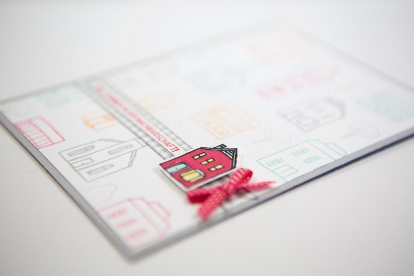 Willkommenskarte zum Einzug mit Stampin' Up!