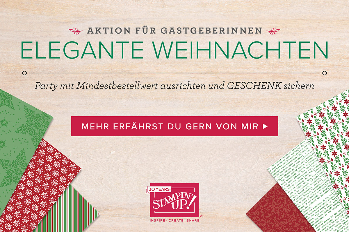 Aktion Elegante Weihnachten Stampin' Up!
