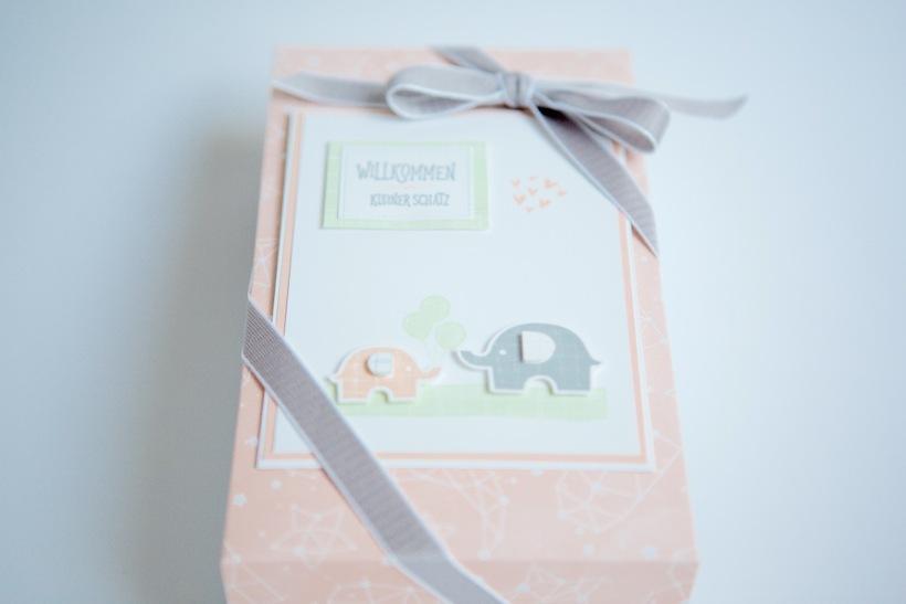 Baby-Geschenk mit Stampin' Up!