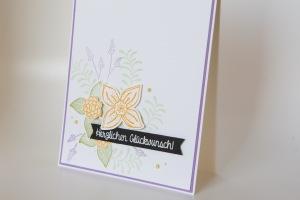 Geburtstagskarte mit Pop of Petals von Stampin' Up!