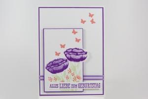 Geburtstagskarte mit Alles was Freude macht von Stampin' Up!