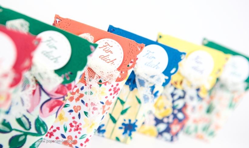 Goodiebags aus Designerpapier von Stampin' Up!